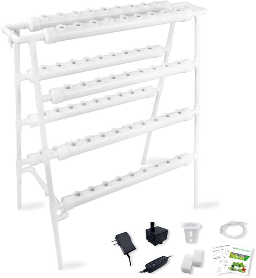 Hydroponics PVC kit for 72 plants