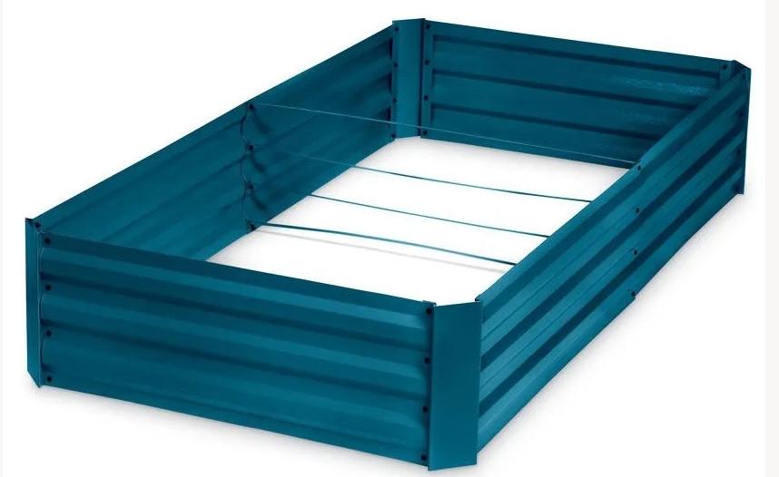 Corrugated Metal Raised Bed