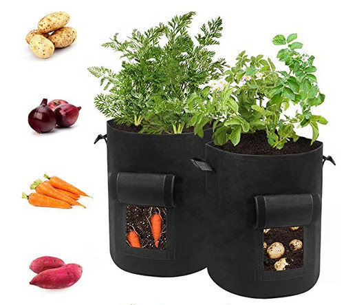 Grow bags for underground growing vegetables