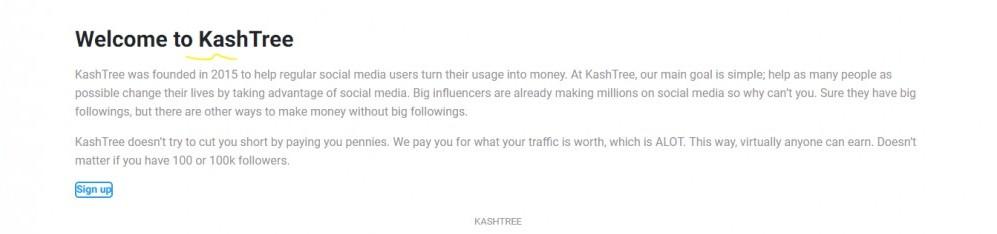 Kash Tree Home Page