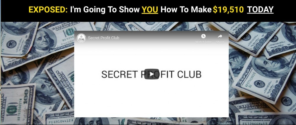 Secret Profit Club screenshot