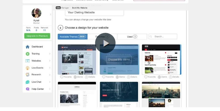 How to build a website video