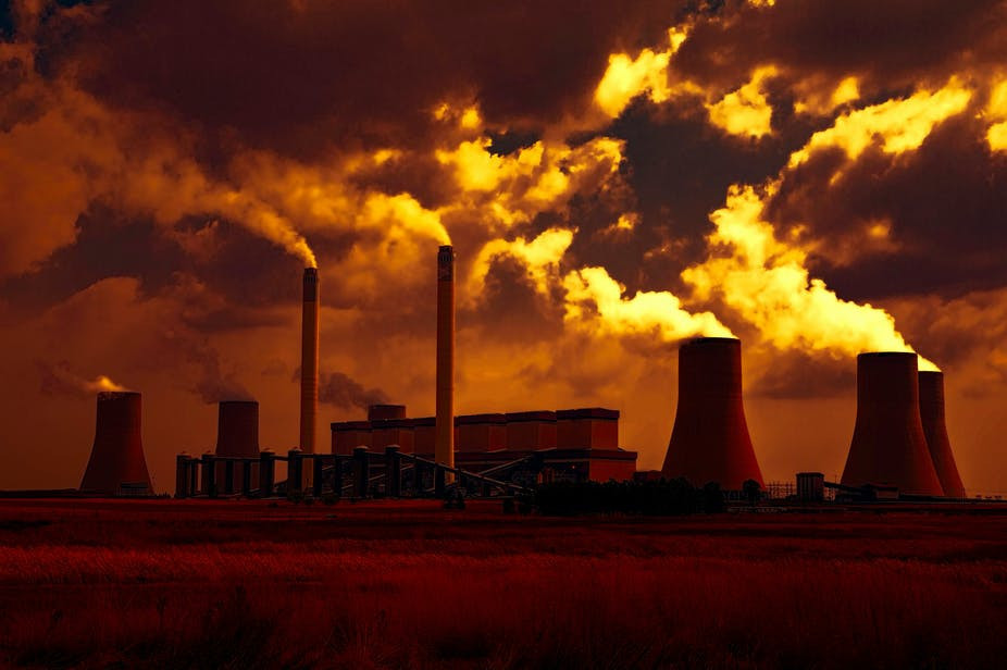 Increasing pollution of the planet has led to extreme climate change