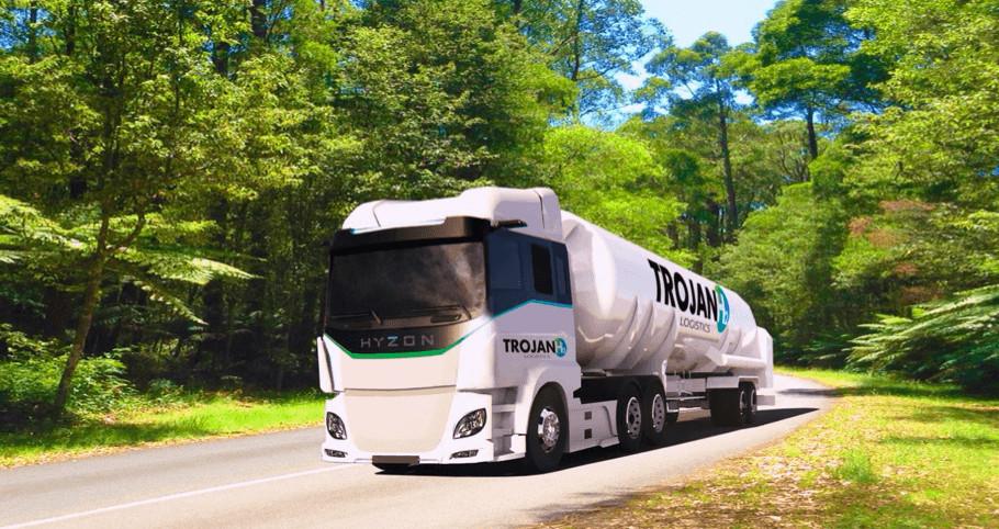 Hydrogen transport on Australian roads