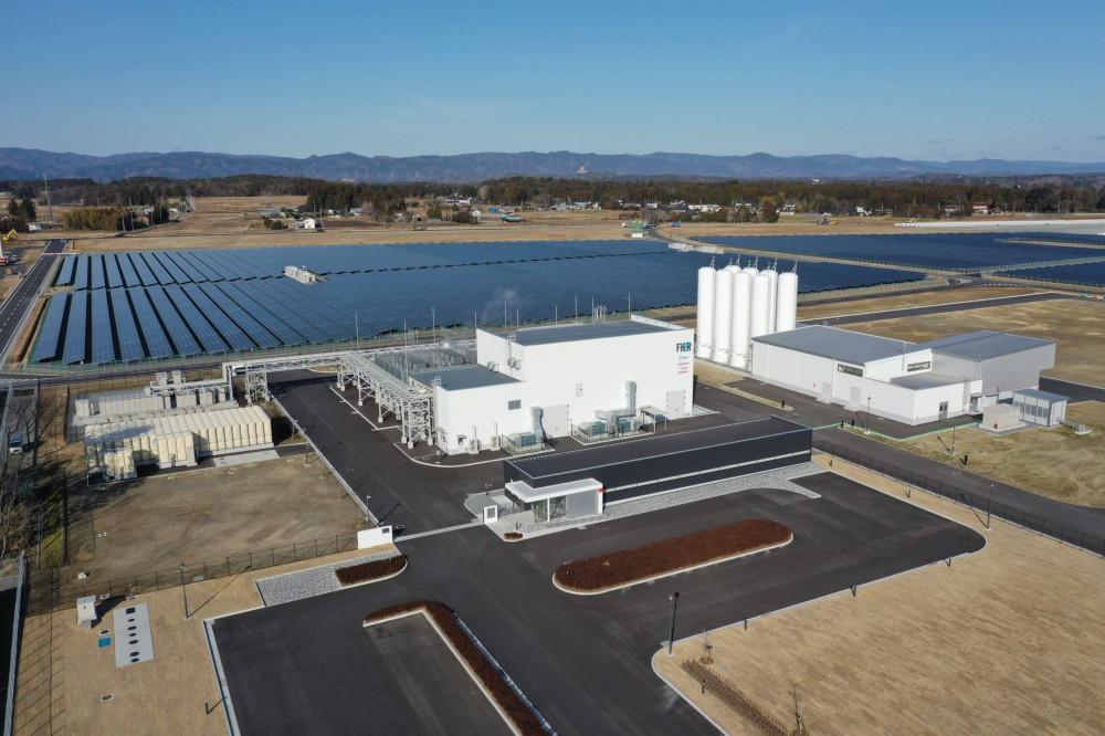 Fukushima plant for hydrogen production