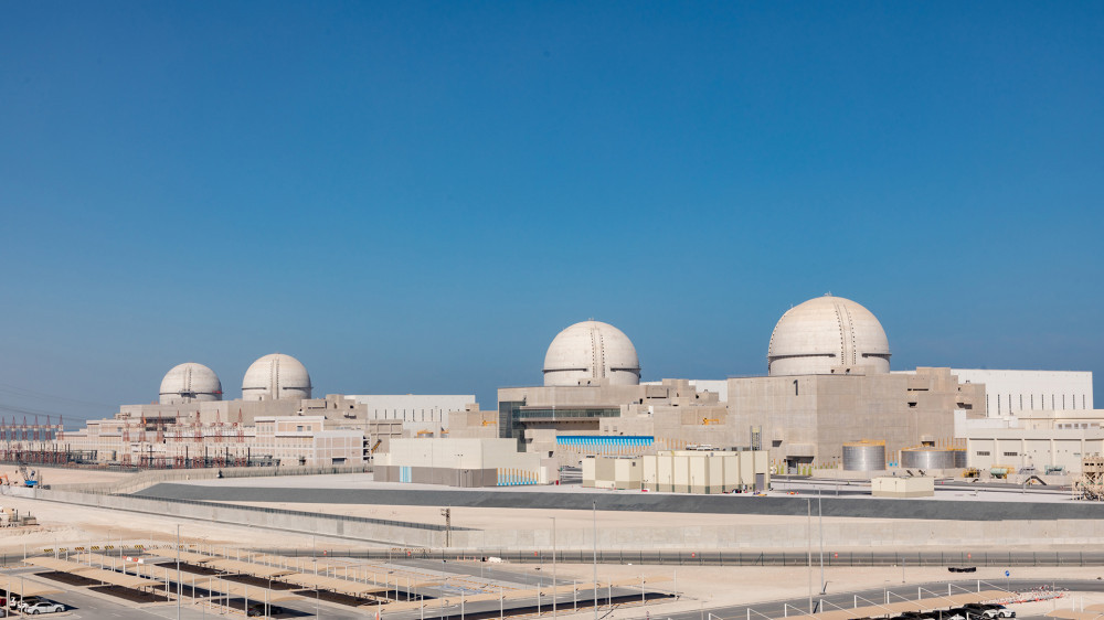 The Barakah Nuclear Power Plant in the UAE.