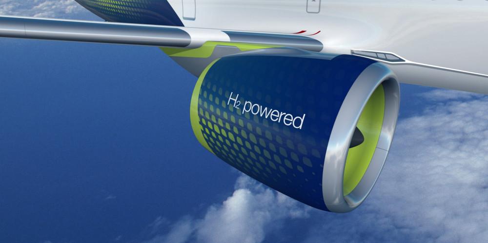 Hydrogen drives planes