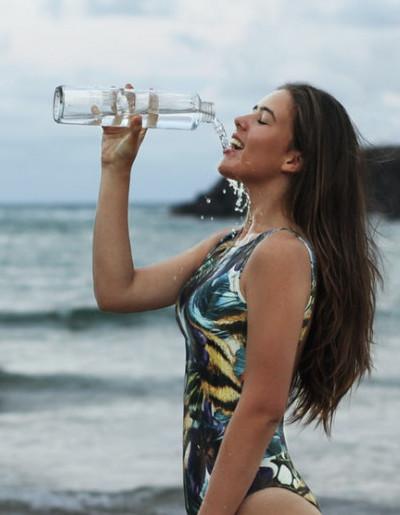 Enjoy drinking water