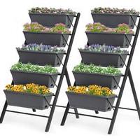 home depot vertical garden planters