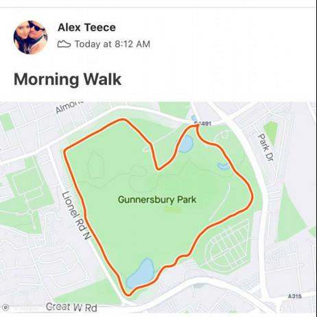Walking Heart Rate