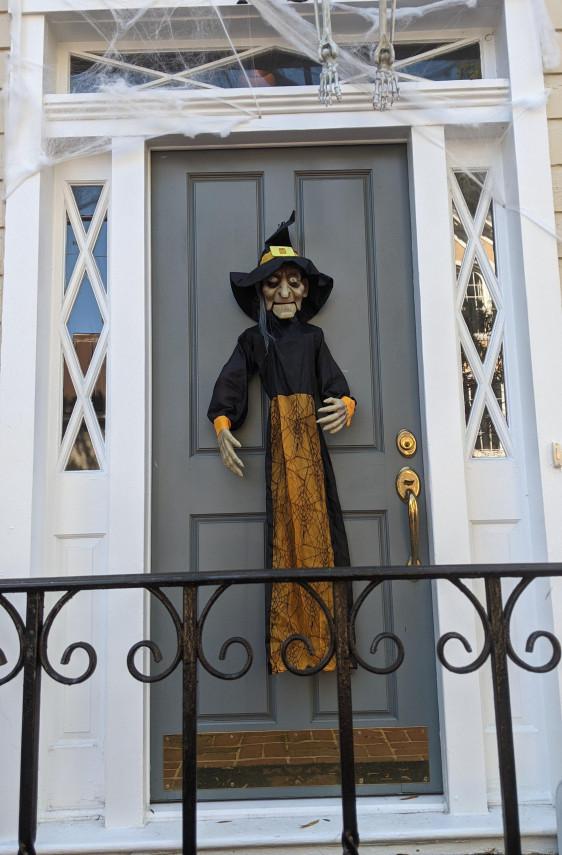 Front Door Witch