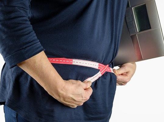 measuring the waistline