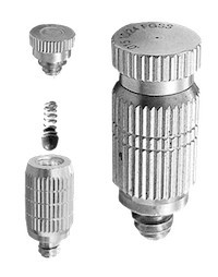 stainless steel misting nozzle