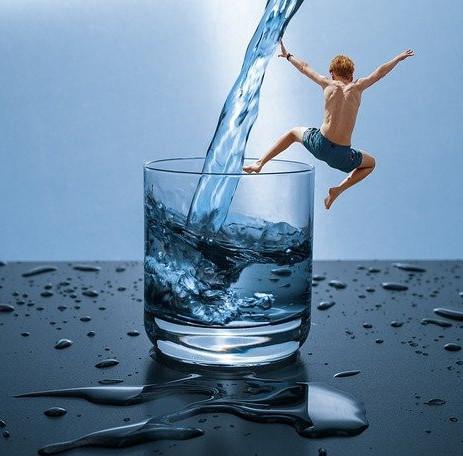 Drinking Water Skin