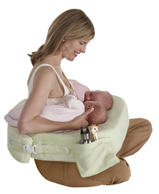 My Breast Friend Breastfeeding Pillow for Twins