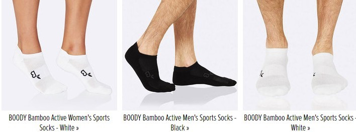 Boody Bamboo Socks Men and Women