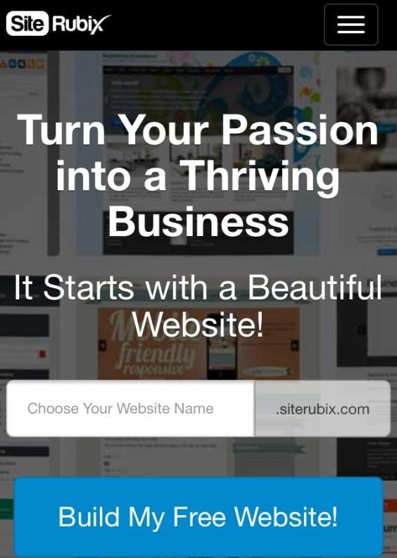 Create A Free SiteRubix Website