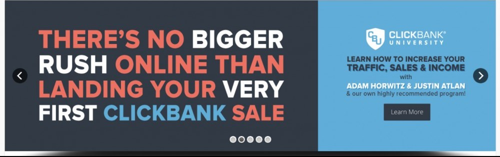 Getting onto ClickBank