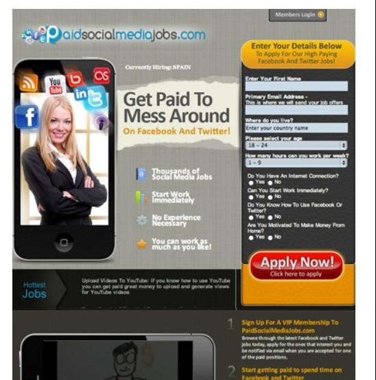 Paid Social Media Jobs Banner