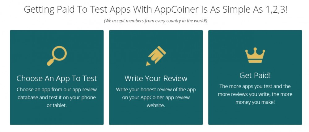 Getting Paid To Test Apps