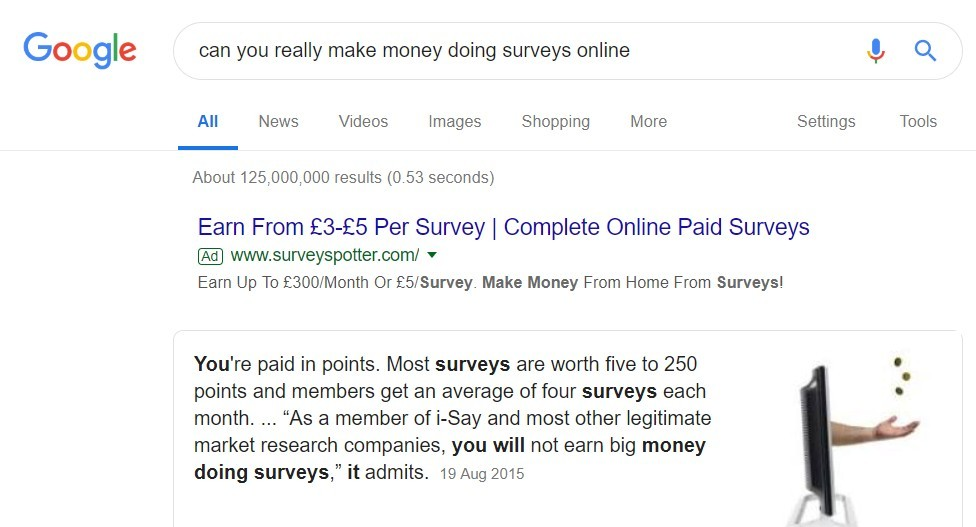 can you really make money doing online surveys