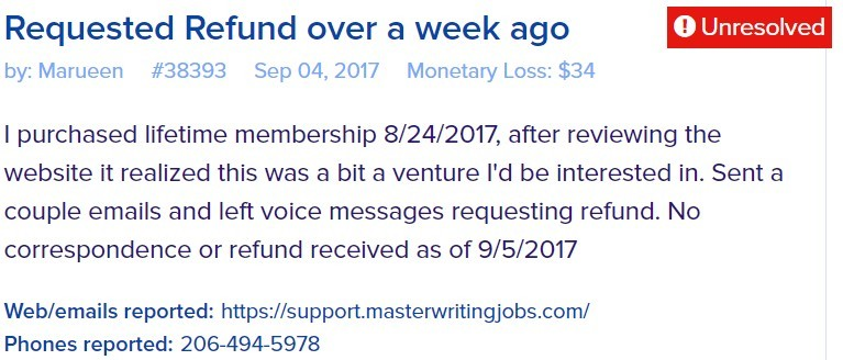 master jobs writing scam review 2
