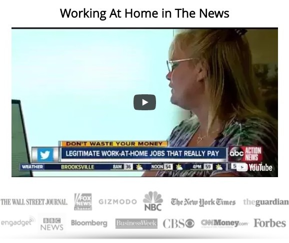 work at home in the news