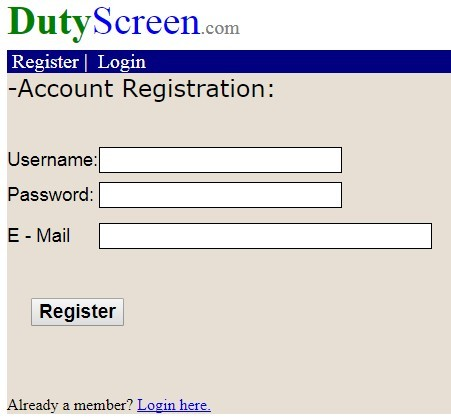 duty screen review
