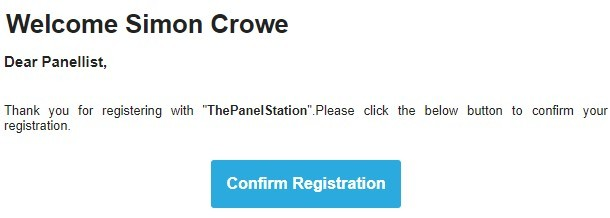 panel station sign up process