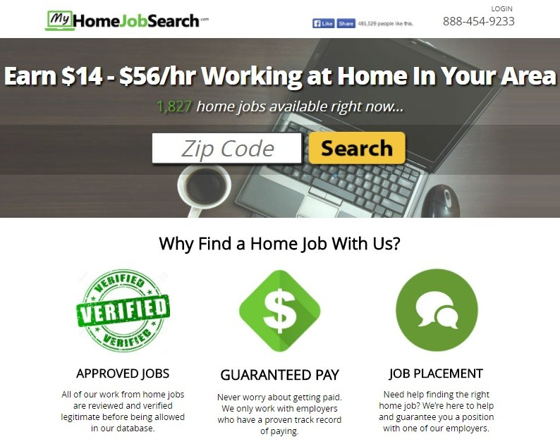 what is my home job search