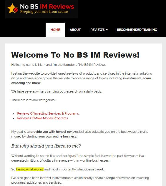what is nobsimreviews homepage