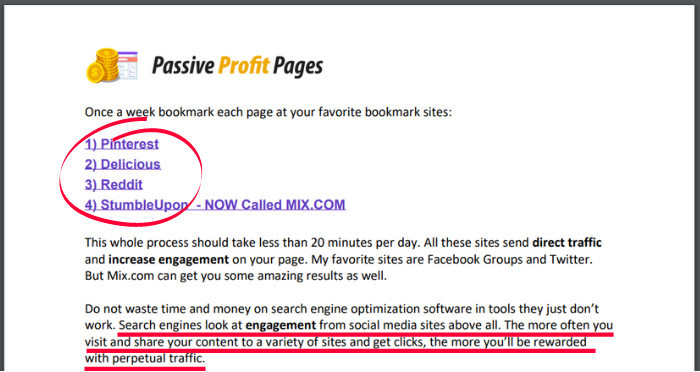 Passive Profit Pages Traffic PDF