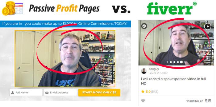 passive profit pages is a scam