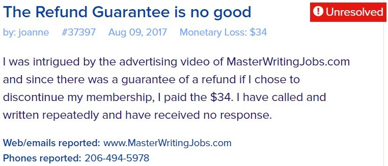 master jobs writing scam review 3