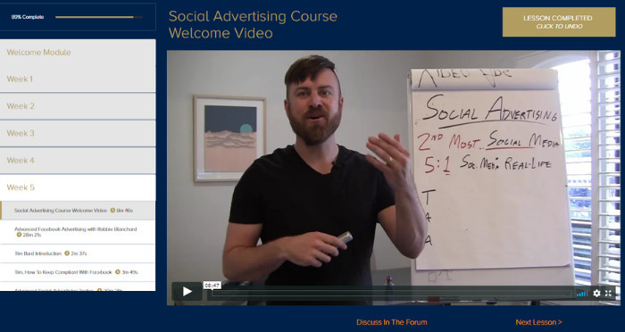 week 5 social media marketing