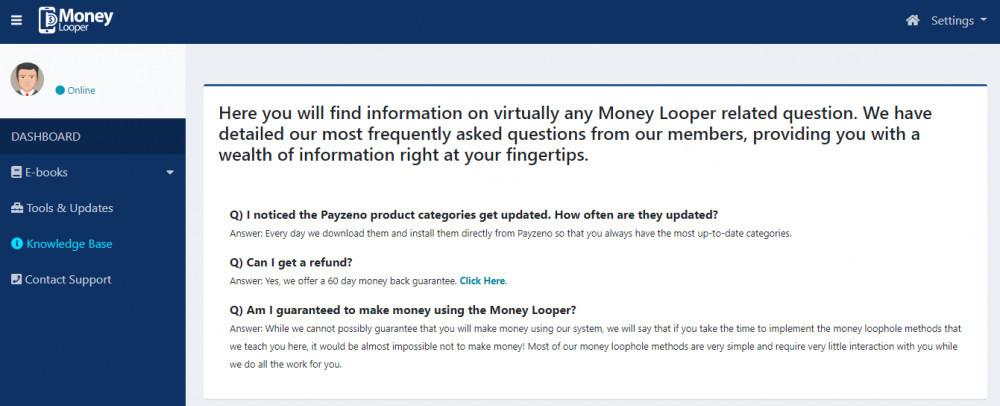 money looper faqs