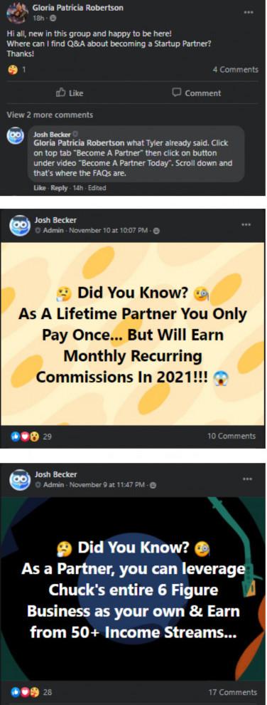 Chucks Mastermind Facebook Group