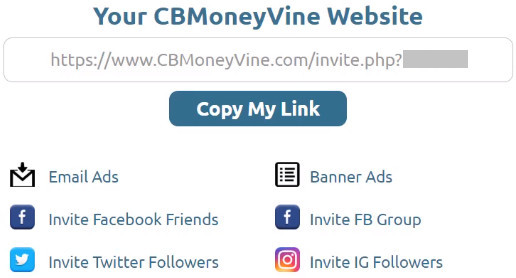 CB Money Vine Traffic Methods