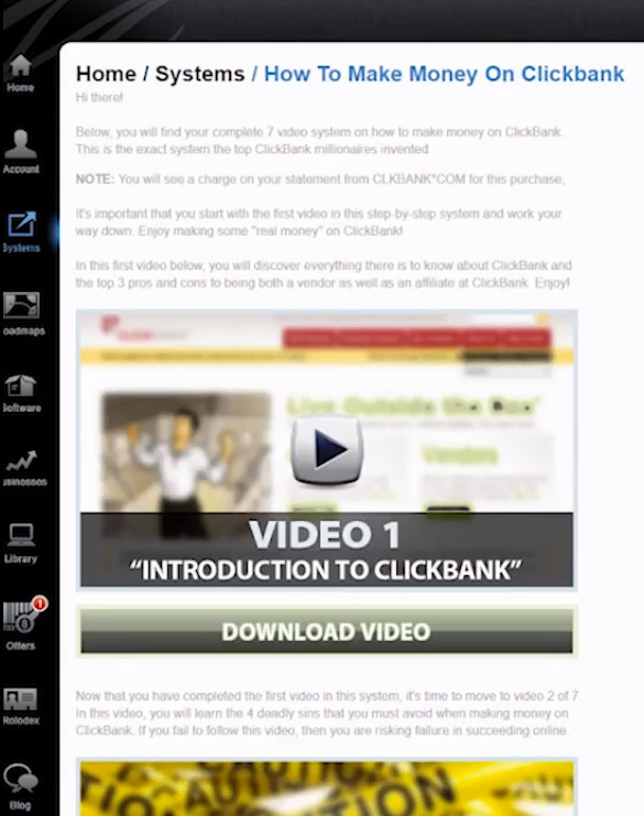 how to make money on clickbank course