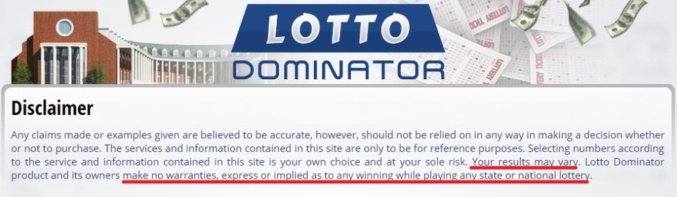 the lotto dominator system review