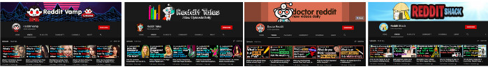 Reddit YouTube channel examples