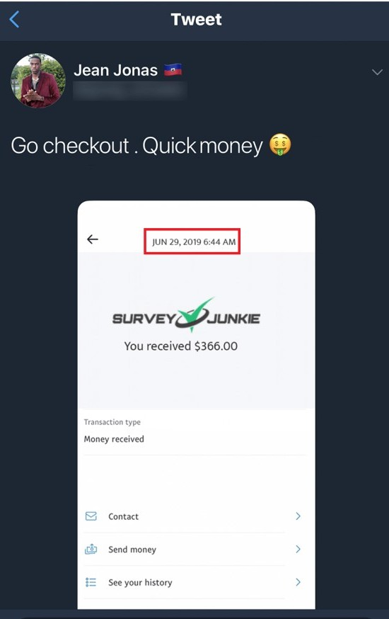 fake payment proof