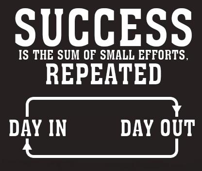 Success means action