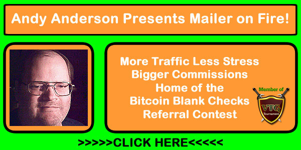 Join our free viral mailer Mailer on Fire