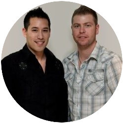 Kyle Loudon and Carson Lim owners of Wealthy Affiliate University