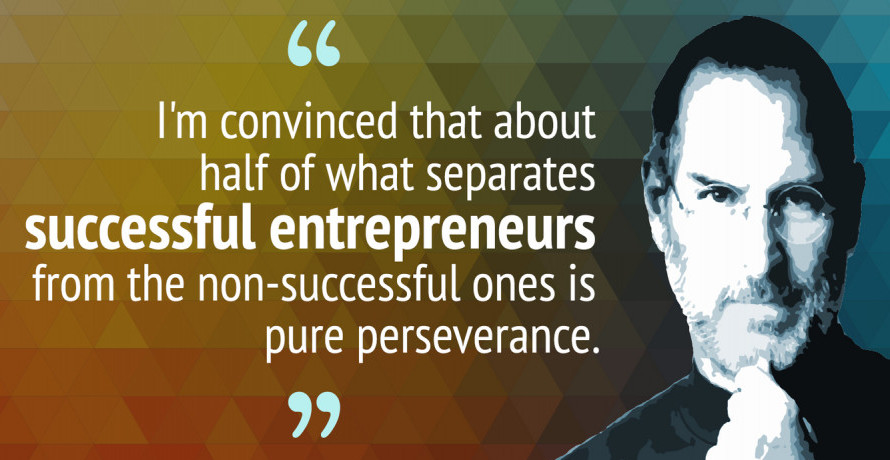 Successful Entrepreneurs and Failures Steve Jobs Quote