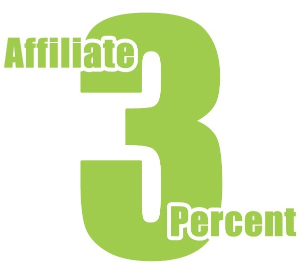 Affiliate 3 Percent Logo