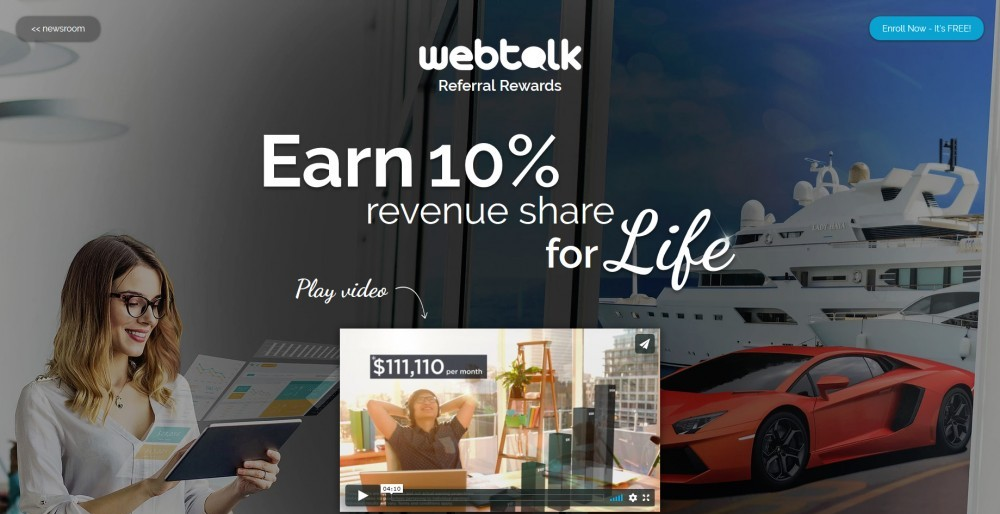 Earn 10% Referral Commissions For Life