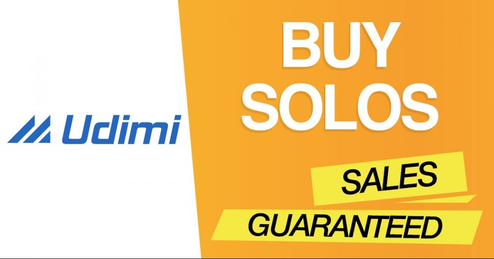 Udimi for Solo Ads Banner