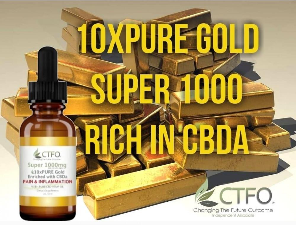 10x Pure Gold CBDa Image